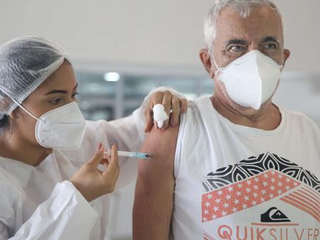 Vacinação de Idosos(69 anos) em Fortaleza-27/03/2021