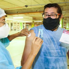 Vacinação em Fortaleza(64 anos) - 05/04/2021.