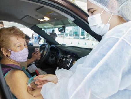 Vacinação em Fortaleza(Idosos D1) - 01/05/2021