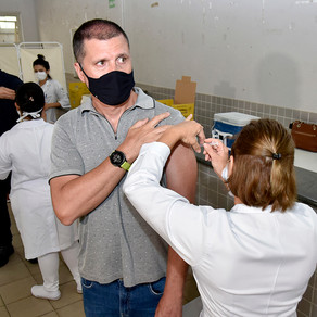 Vacinação em Fortaleza(Profissionais da Saúde e Idosos) - 07/04/2021