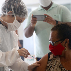 Vacinação de Idosos(68 anos), 1a e 2a doses, em Fortaleza - 31/03/2021