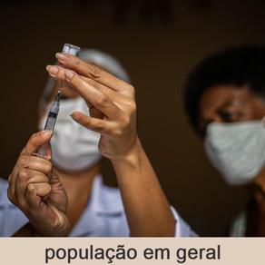 Vacinação em Fortaleza(População Geral) - 07/06/2021
