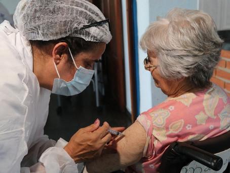 Vacinação em Fortaleza(Idosos D2) - 29/04/2021