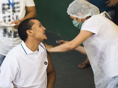 Vacinação em Fortaleza(População Geral) - 11/06/2021