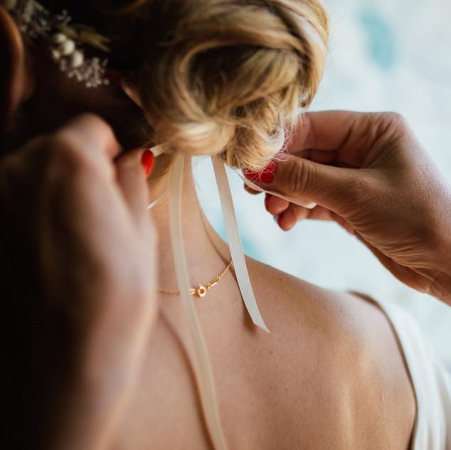 Svatební vlasy