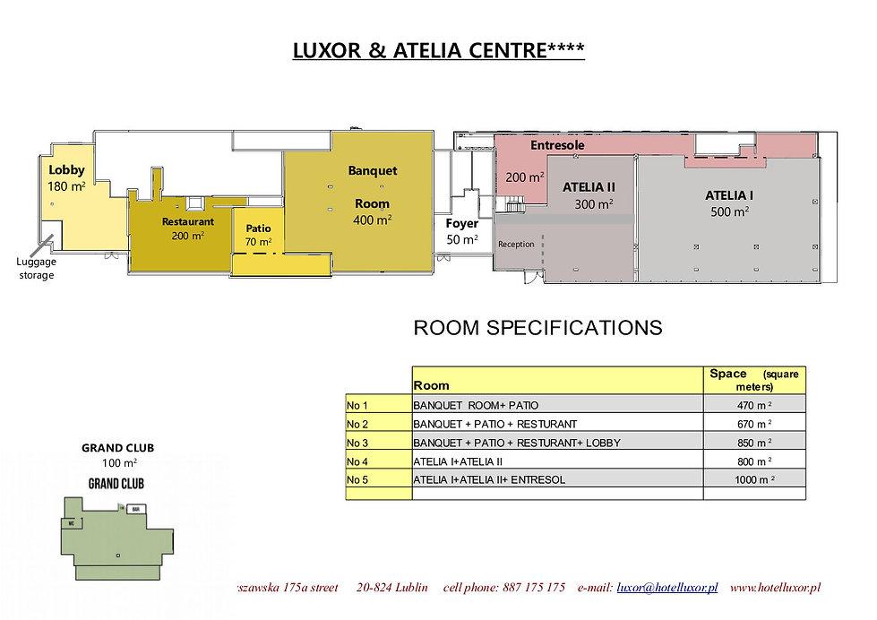 Centrum konferencyjne, centrum bankietowe
