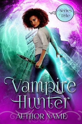 Vampire Hunter Pre-Made Cover