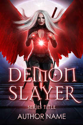 Demon Slayer Pre-Made Cover