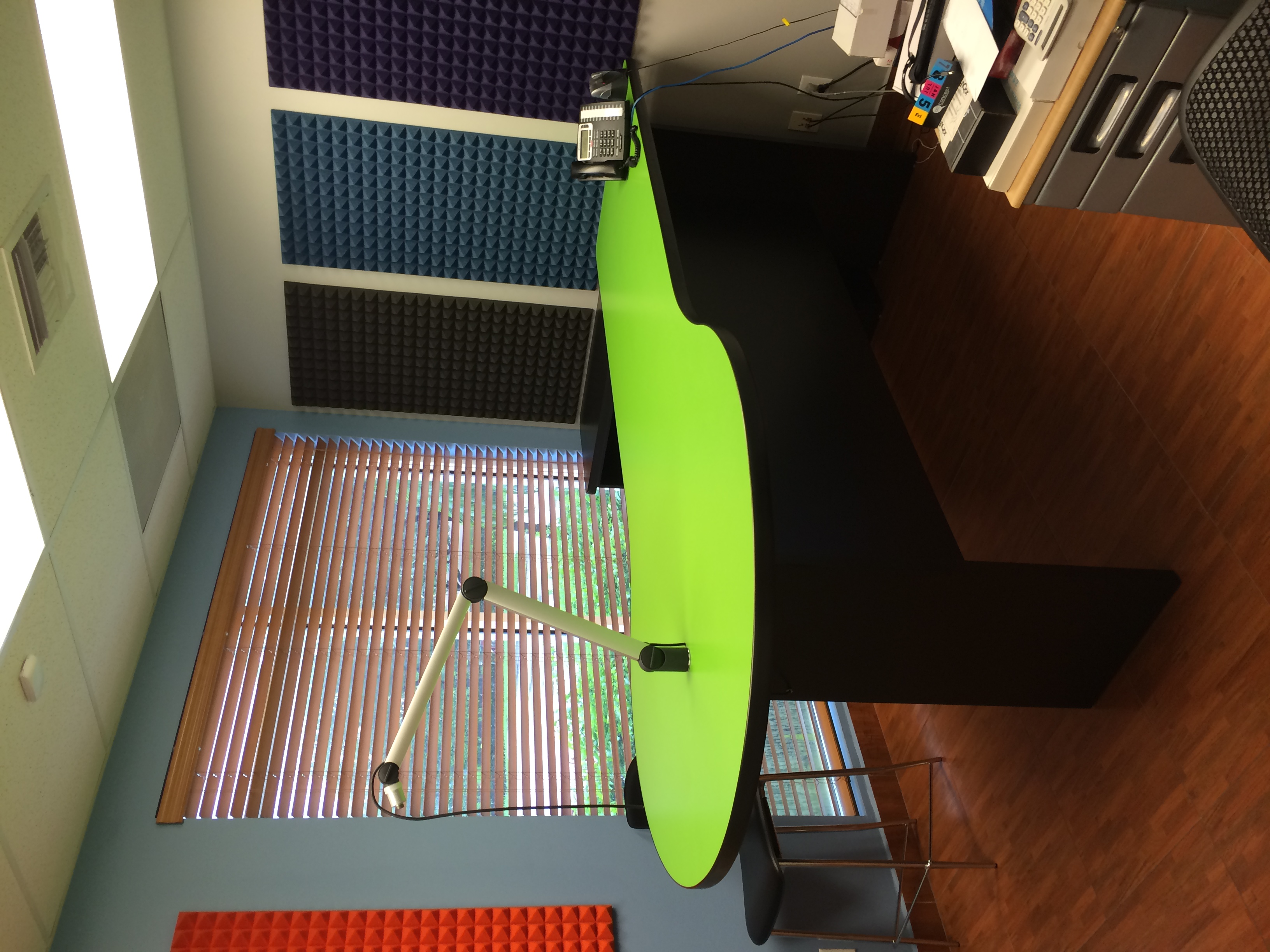 Radio Studio Tables