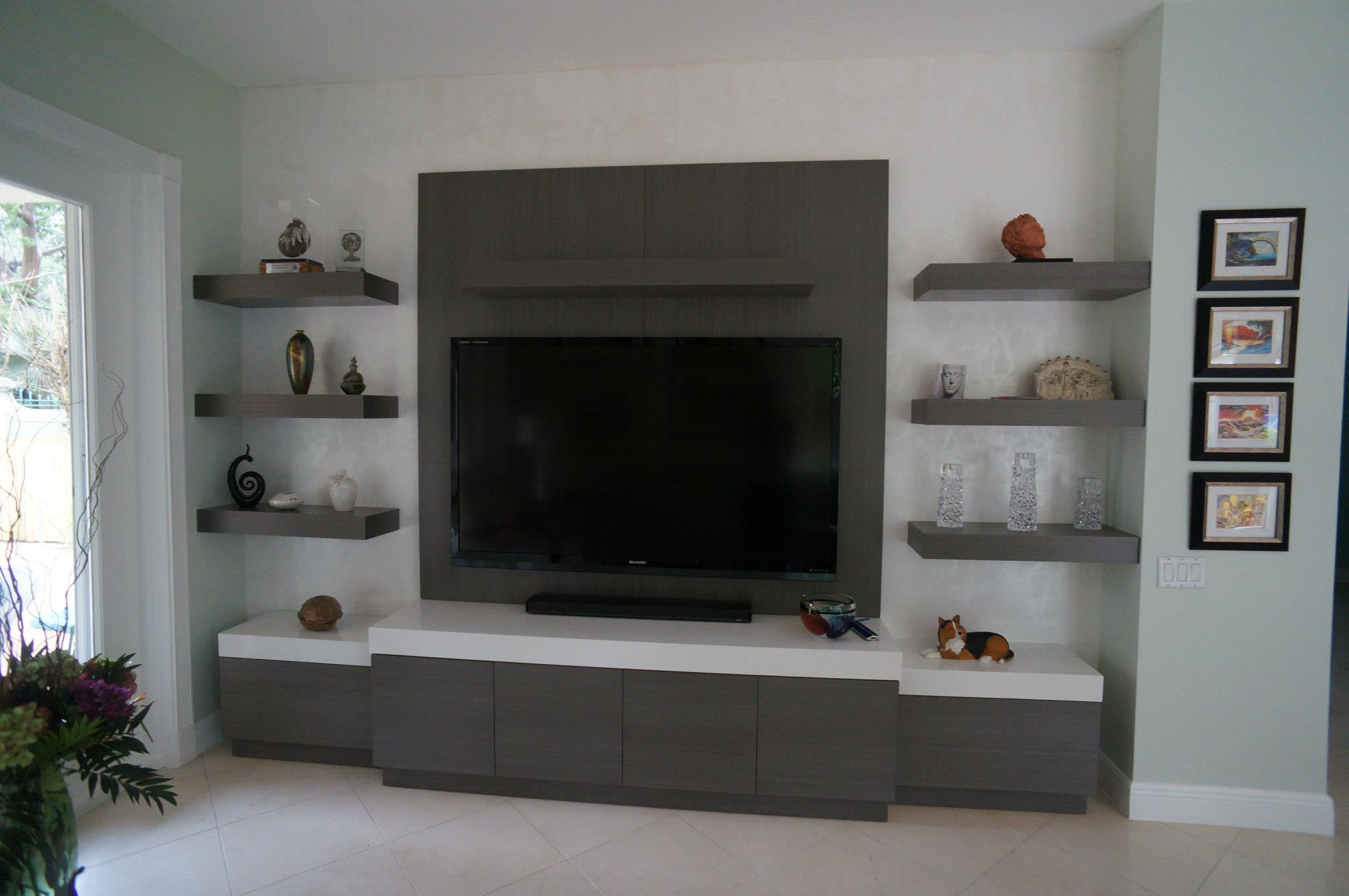 Entertainment Wall