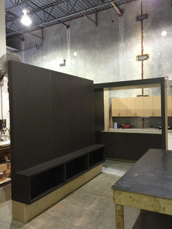 Entertainment Wall During Production