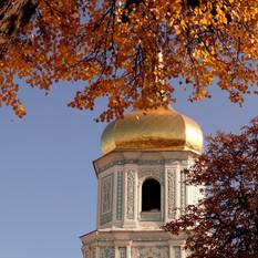 Kiev Campanile Santa Sofia