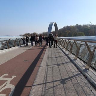 nuovo ponte pedonale