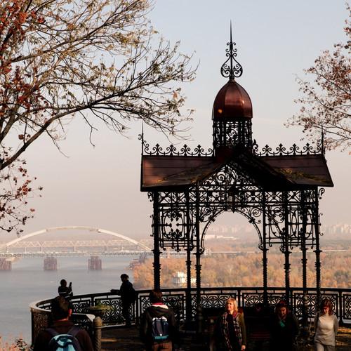 punto panoramico sullo Dnepr