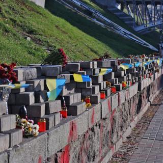Memoriale ai caduti nel 2014