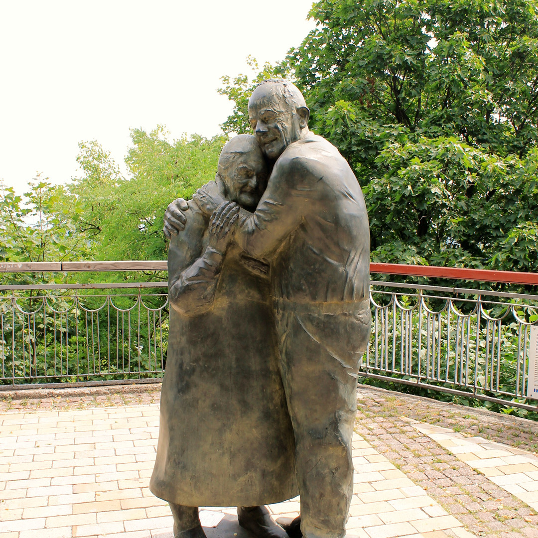 Kiev monumento all'amore eterno