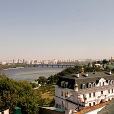 Kiev Vista dal Monastero delle grotte