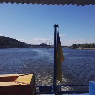 Crociera sul fiume Dnepr