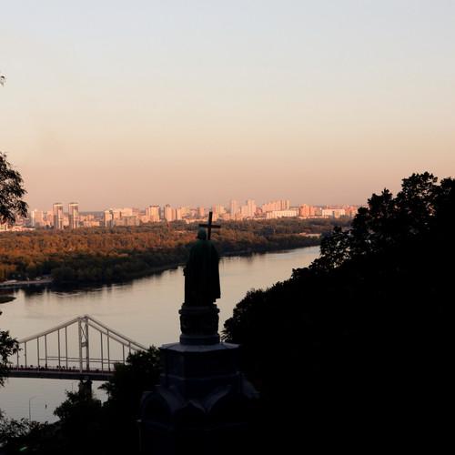 Kiev Monumento principe Vladimir