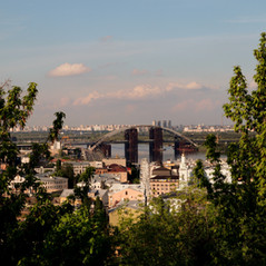 Vista dalla collina di Sant'Andrea