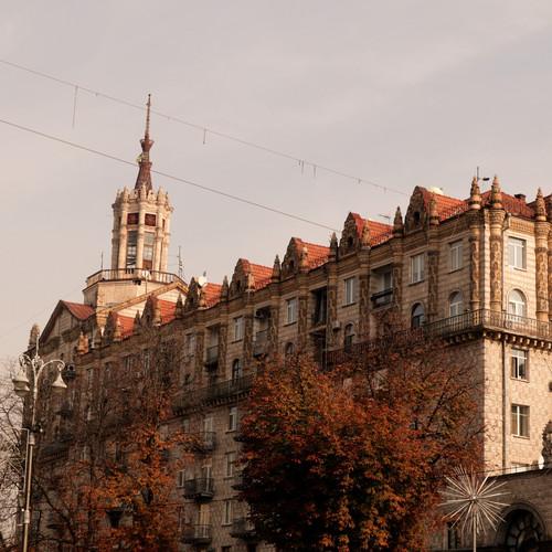 Kiev viale Kreshatik