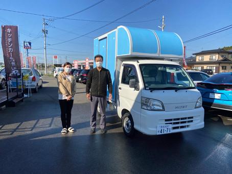 ㊗350キッチンカー納車㊗恋の町札幌