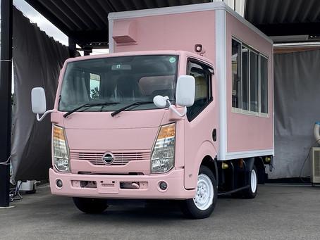 ピンクモモタロウ号現る☆