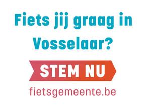 Vosselaar wil Fietsgemeente 2020 worden.