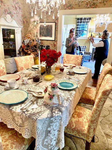 Dining Room - Vintage Rose Cottage - Event House - Stephenville, Texas