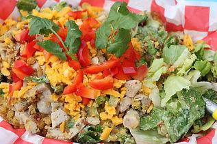 bacon chicken ranch salad