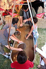 gold panning Great American Lone Star Ra