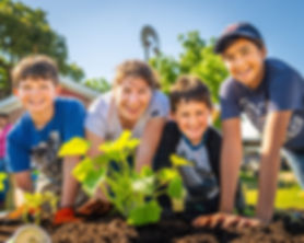 alexandra and kids in garden FB.jpg