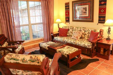 Lone Star Lodge - Vintage Cowboy Sitting Room