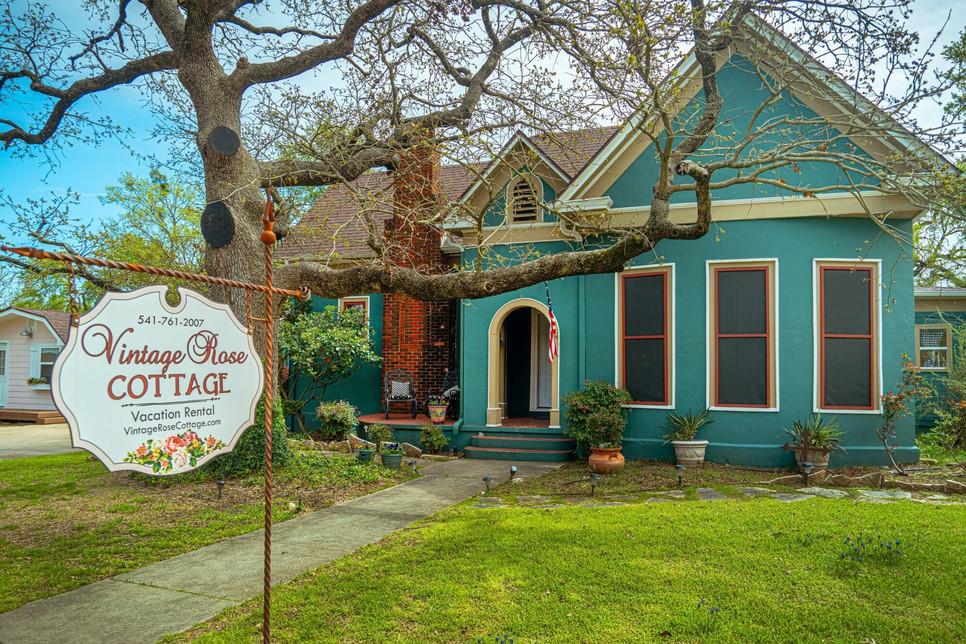 The Vintage Rose Cottage