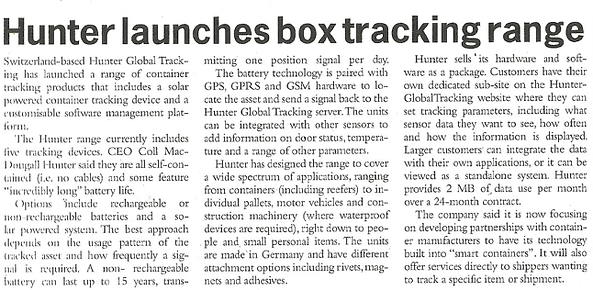 Hunter GPS tracking system