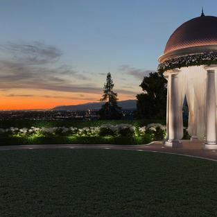 Rotunda at Sunset