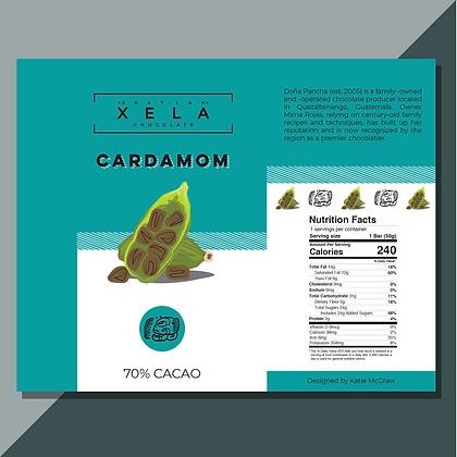 Cardamom Xela Chocolate