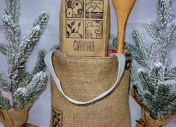 Canvas Bag + Guatemalan Coffee + Wooden Spoon