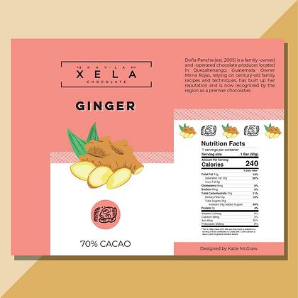 Ginger Xela Chocolate