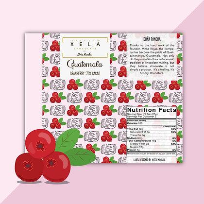Cranberry Xela Chocolate