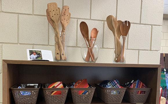In-Store Wooden Utensils