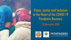Video: Peace, Justice and Inclusion at the Heart of the COVID-19 Pandemic Recovery