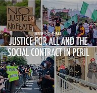 Justice for All and the Social Contract in Peril