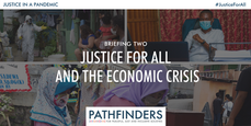 Blog: Justice for All and the Economic Crisis