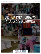 Justice for All and the Economic Crisis (Spanish)