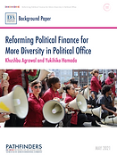 Reforming Political Finance for More Diversity in Political Office