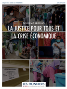 Justice for All and the Economic Crisis (French)