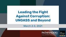 Leading the Fight against Corruption: UNGASS and Beyond