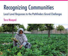 Recognizing Communities Local Level Responses to the Pathfinders Grand Challenges