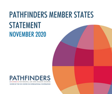 Pathfinders Member States Statement –November 2020
